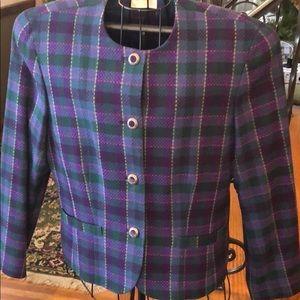 Vintage Pendleton Blazer Virgin Wool Made in USA